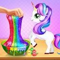 Rainbow Unicorn Slime Maker - Jelly Toy Fun icon