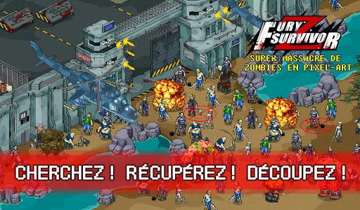 Fury Survivor: Pixel Z astuce APK MOD capture d'écran 1