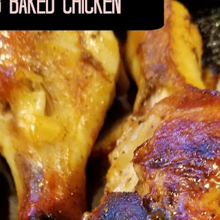 Dry Rub Baked Chicken