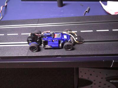 Testing slot car motors