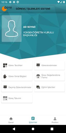 ÖSYM Görevli İşlemleri Sistemi screenshot 3