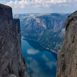 Lysefjorden, Norway by Anngunn Dårflot - Landscapes Mountains & Hills