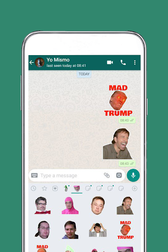 Free Messenger Whats 2019 Stickers  app download 2