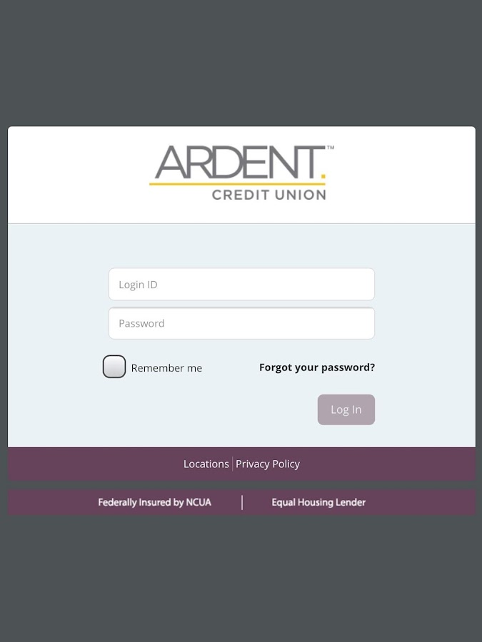 Ardent eBanking- screenshot