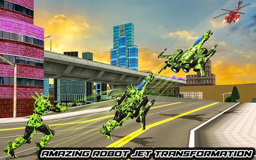 US Army Robot Transformation Jet Robo Car Tank War 1.0.4 screenshots 8