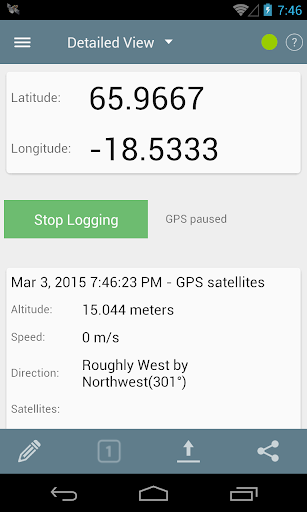 GPS Logger for Android  screenshots 3