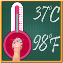 Body Temperature Scanner Prank icon