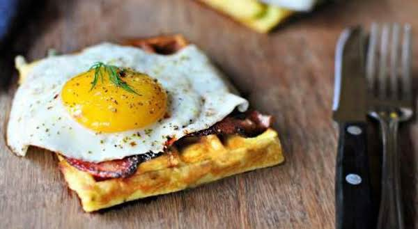 Easy Breakfast Puffed Eggs