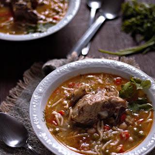Sopa de Menestrón aka Latin Style Minestrone Soup