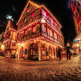 noel a colmar 2017 by Pierre Husson - Public Holidays Christmas ( hiver, street, christmas, city lights, france, alsace, noel, colmar )