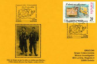 Photo: Tarjeta del Grucomi con el matasellos de la Exposición itinerante juvenil de marzo del 2000