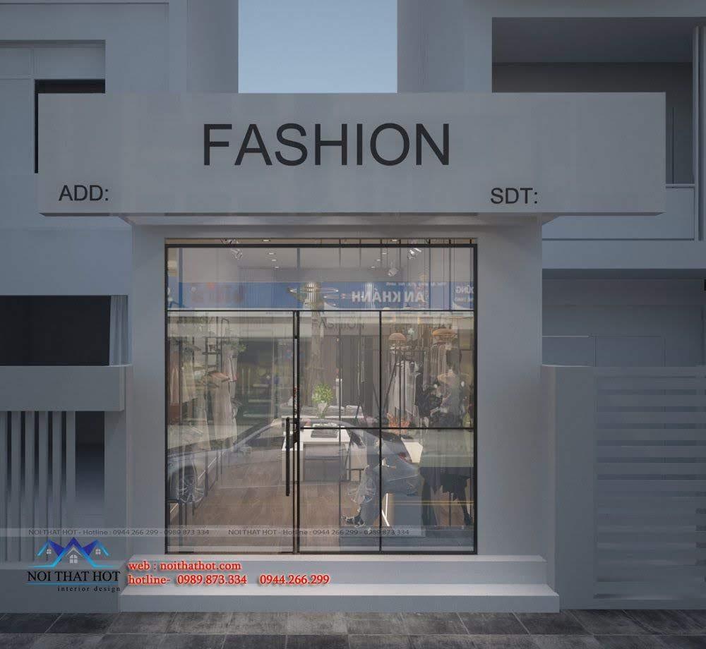 thiết kế shop thời trang hoài đức 5