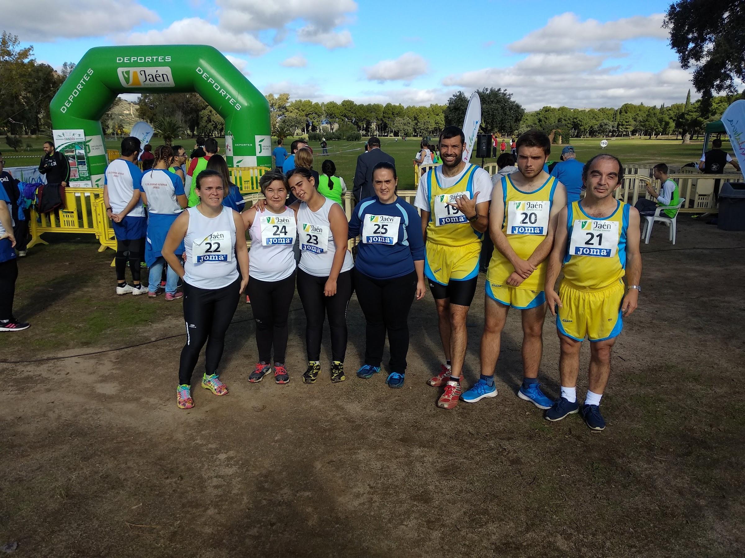 Apadis participará en el Campeonato Andaluz de Atletismo para personas con discapacidad intelectual