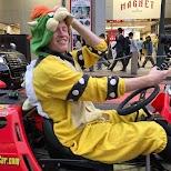 taking a selfie in my Mario Kart in Tokyo, Tokyo, Japan