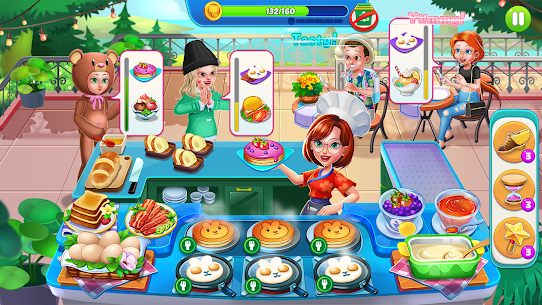 Food Diary: Cooking Game and Restaurant Games 2020 2