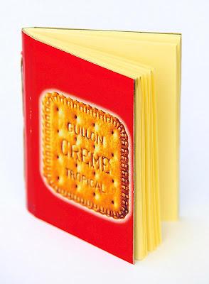 llibretes reciclades : galetes