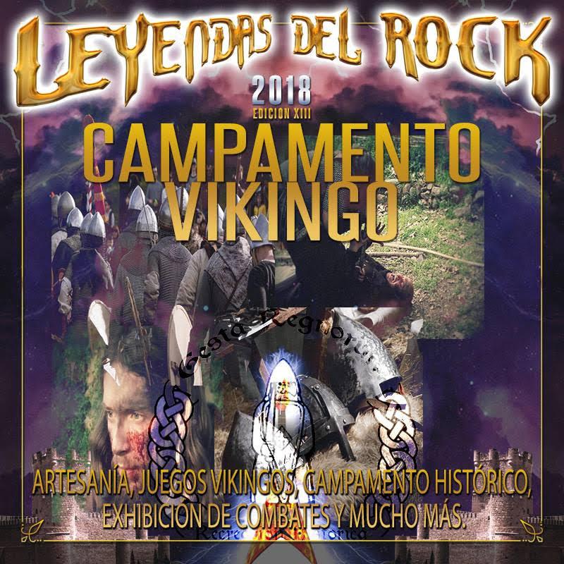 Leyendas del rock campamento vikingo