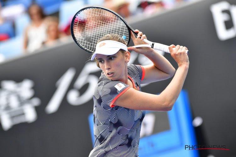 Serena Williams wist sterke start Elise Mertens tweemaal uit