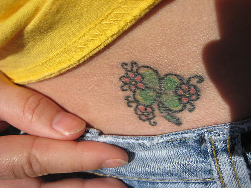 New Free Flower Tattoo Tribal design. New Free Flower Tattoo Tribal design
