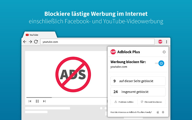 Adblock Plus Screenshot