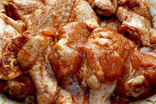 'Chicken wings' czyli pieczone skrzydełka w panierce