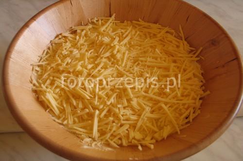 Sałatka z szynką, selerem i ananasem wieprzowina szybkie salatki przystawki latwe codzienne  przepis foto