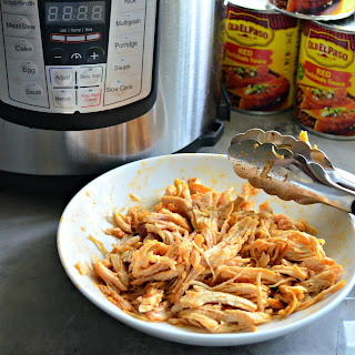 Instant Pot Mexican Shredded Chicken.