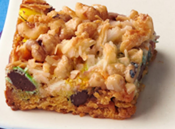 Sights And Sounds Cookie Bars Recipe