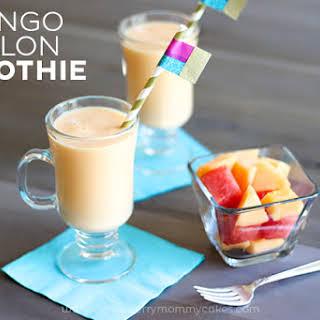 Mango Melon Smoothie.