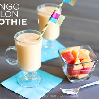 Mango Melon Smoothie.