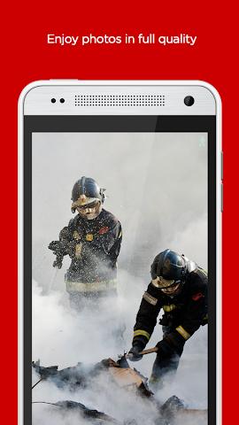 android irista Screenshot 2