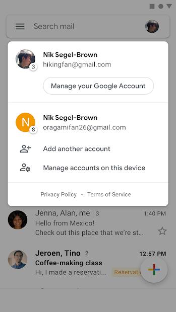 Screenshot - Gmail