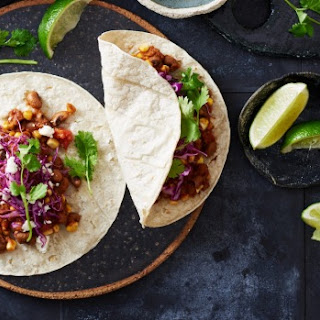 Slow-cooker Smoky Black Eye Pea And Corn Tacos