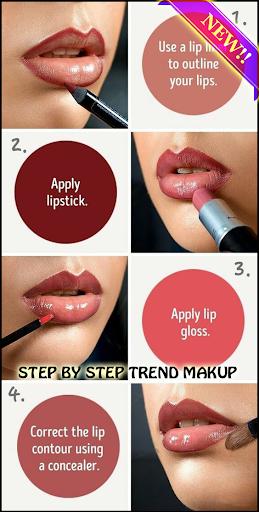 step by step make up (learn make up) 1.0.1 screenshots 3