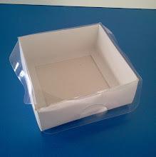 Photo: Caixa protótipo (23) - pequena e para usos diversos (bijoterias, lembranças, etc.). SPP 389 - 94mm x 92mm x 35mm