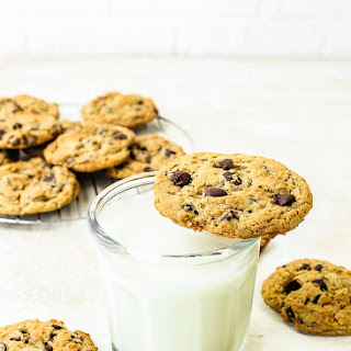 Eggless Chocolate Chips Cookies Recipe