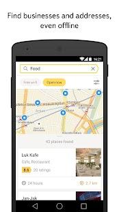 Yandex.Maps Screenshot 1