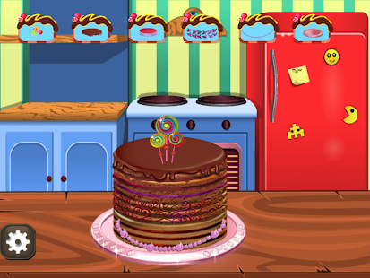Wedding Chocolate Cake Factory Screenshot