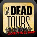 GA DEAD TOURS - TWD LOCATIONS MAP icon