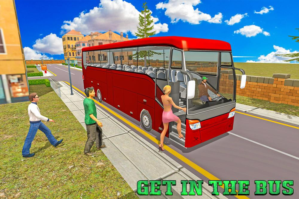 Coach Bus Sim: Zoo Driver- screenshot