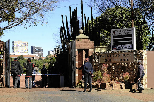 Parktown Boys High School in Johannesburg.
