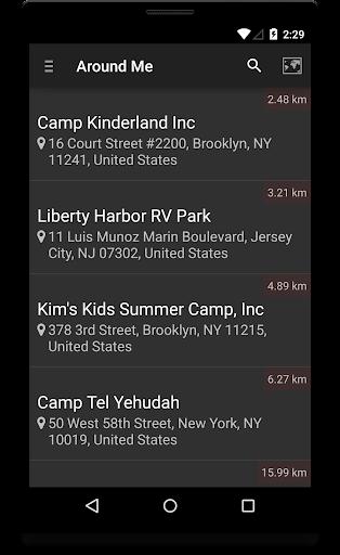 Locate Campground