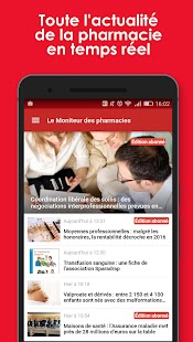 Le Moniteur des pharmacies- screenshot thumbnail