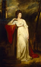 Photo: Frances Woodley 1760-1822 oil on canvas by George Romney - Married Henry Bankes, mother of Canon Edward Bankes,