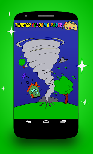 Twister Coloring Pages screenshot 6