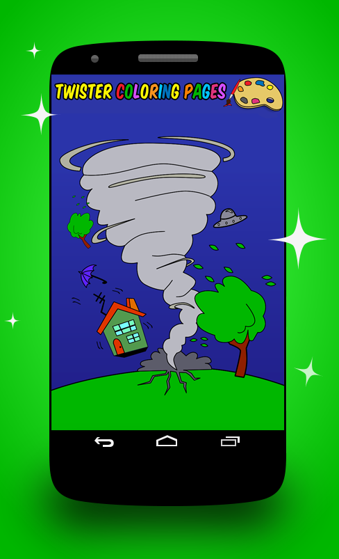 Twister Coloring Pages- screenshot