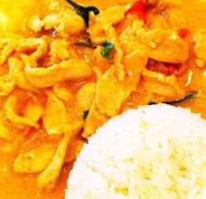 Photo: Thai red curry, $3.