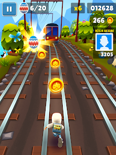 Download Subway Surfers Mod With Unlimited Coins/Keys free on android 10