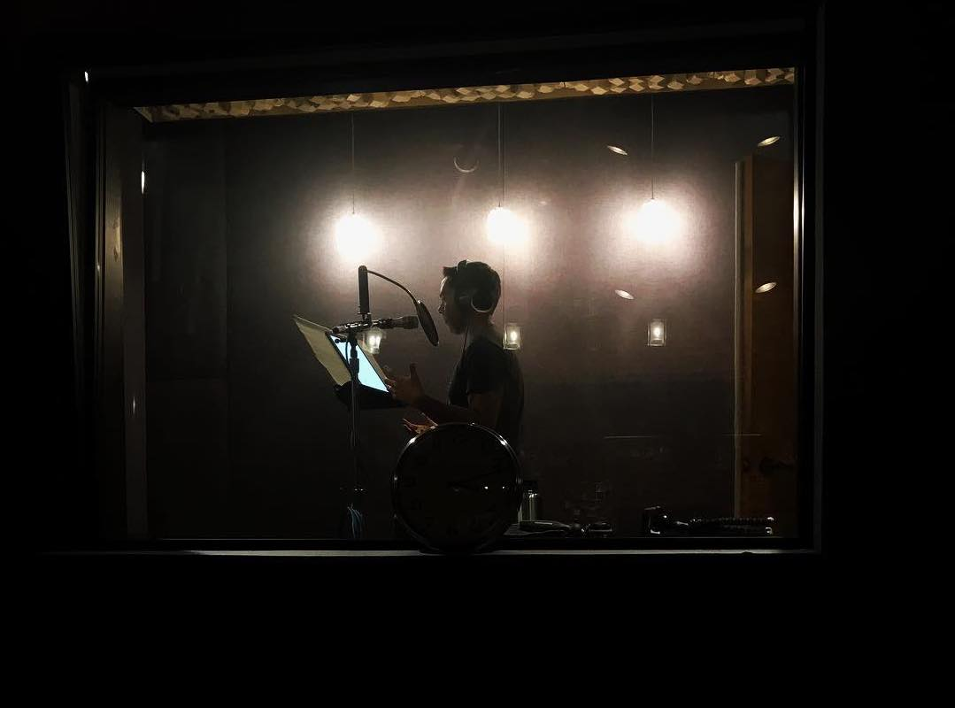 Pat in the Recording Studio