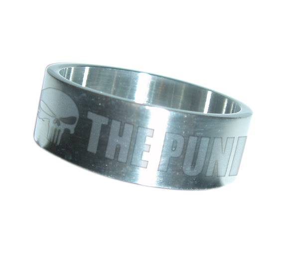THE PUNISHER Stainless Steel Ring